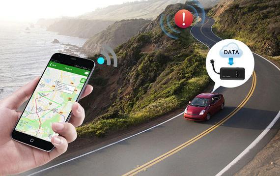gps tracking รถ ยนต์